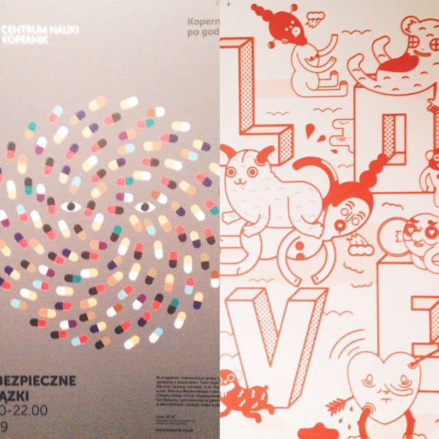Ton of inspiration at Polish poster exhibition at EDM. #posterdesign #graphicdesign #madeinpoland