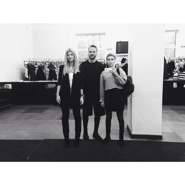 Team Black Carpet. #tallinnfashionweek #alexanderwanghm