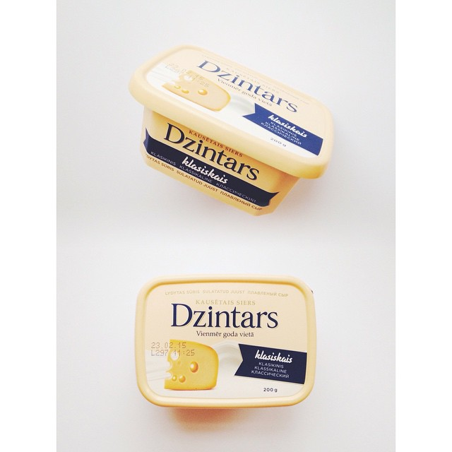 Dear latvians and other fellow baltic creatures, I designed you a cheese. Not our usual style, but sometimes it has to go normcore. #dzintars #madeinlatvia #madeinestonia #packagedesign #hmmmstudio #ddb