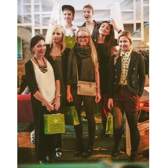 #latergram of the #bloggersmarket estonia team, here we are in our kawai manga characters state. By @apalmik #uustuus #newkewl #bloggers #madara #hetk @hetkes