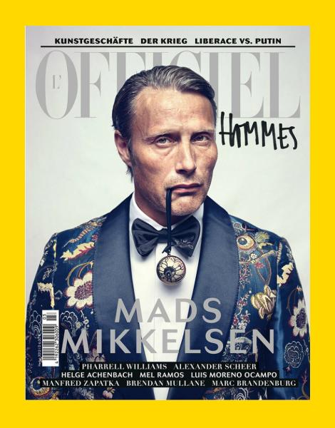 Mads Mikkelsen for L'Officiel Hommes Germany Fall 2013