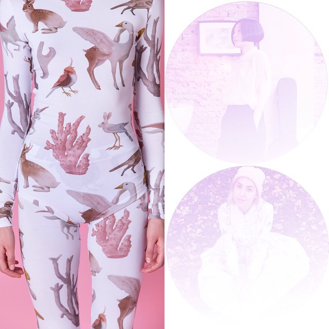 These two muses on my blog today, I'm under maximum fascination @lesiales @hsiaoroncheng #illustration #fashion #magic #uustuus #newkewl