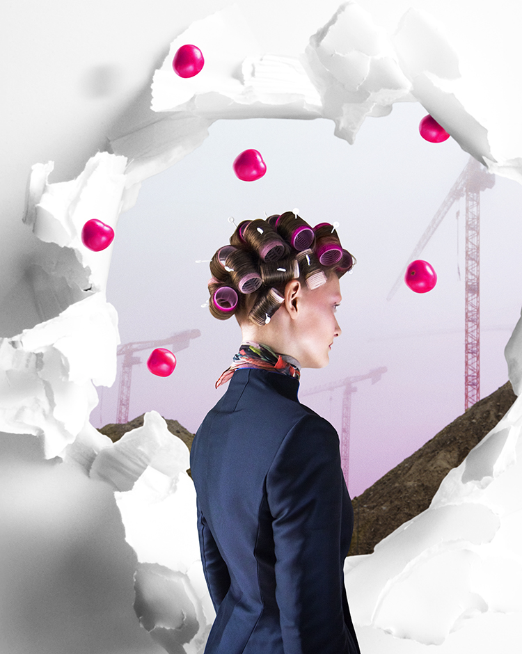Photography Chris Calmer Styling Pholoso Selebogo  Hair & Make Up Louise Polano / Scoop Artists Assistance Hair & Make Up Ayoe Nissen Special Thanks &Pange Boutique Copenhagen  Model Rakul Villebaek / Unique Models