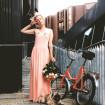 Helene Vetik birthdaygirl in a QooQoo dress & Stellasport sneakers
