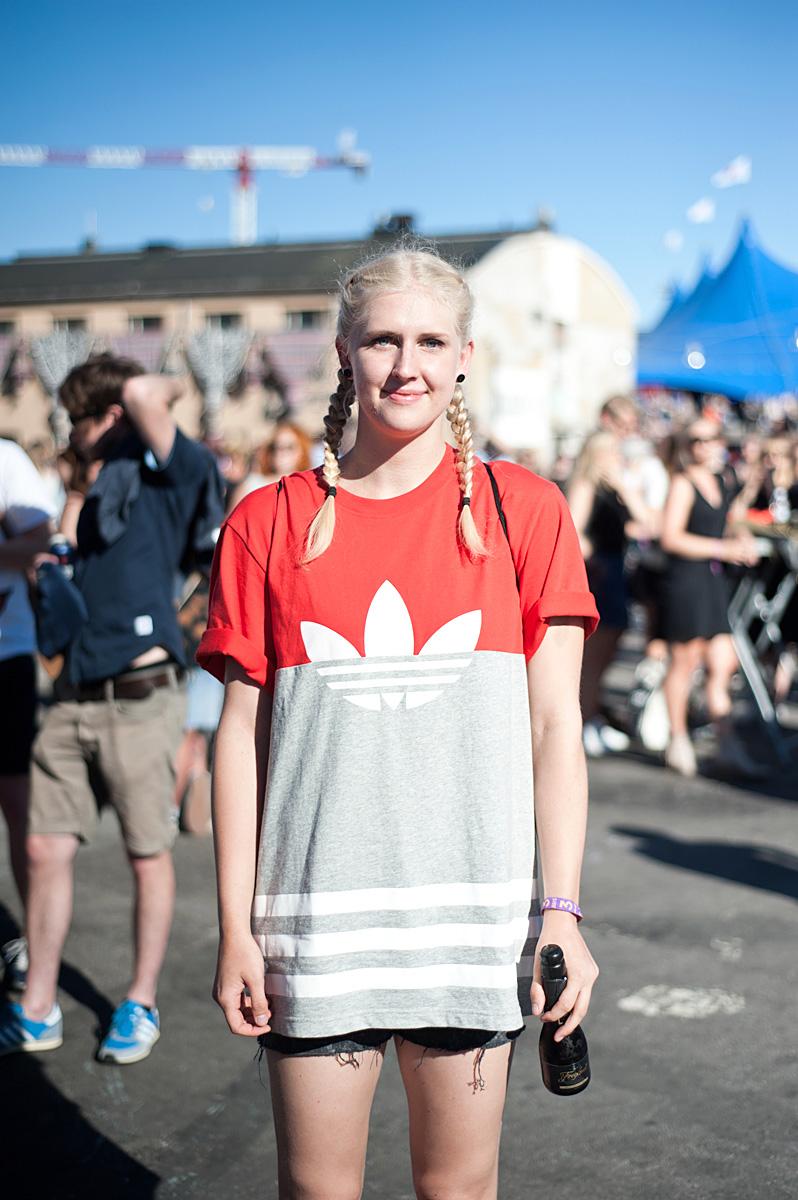 Flow Festival Helsinki 2015 looks on NewKewl blog - Fanni