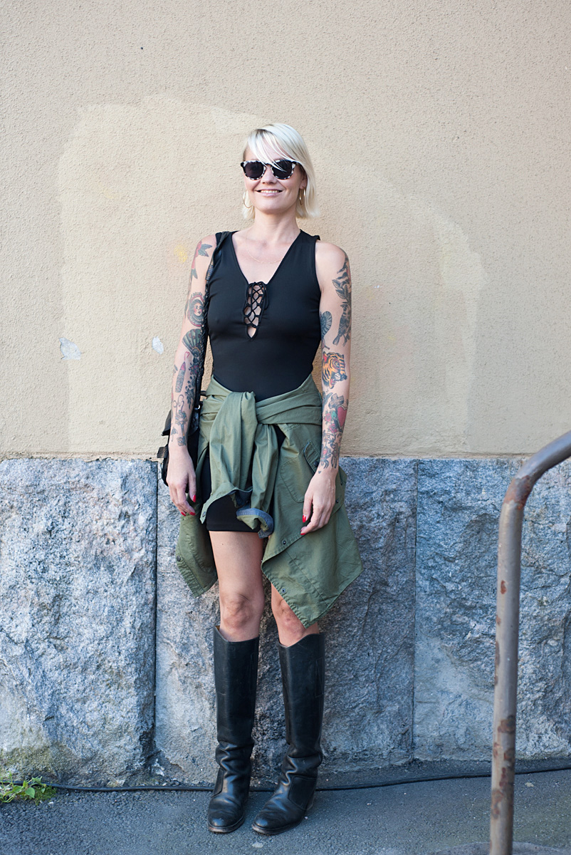 Flow Festival Helsinki 2015 looks on NewKewl blog - Jonna