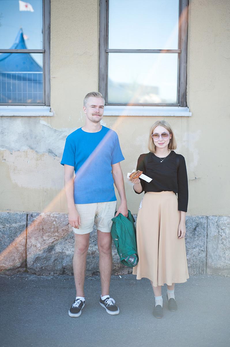 Flow Festival Helsinki 2015 looks on NewKewl blog - Frans & Meri