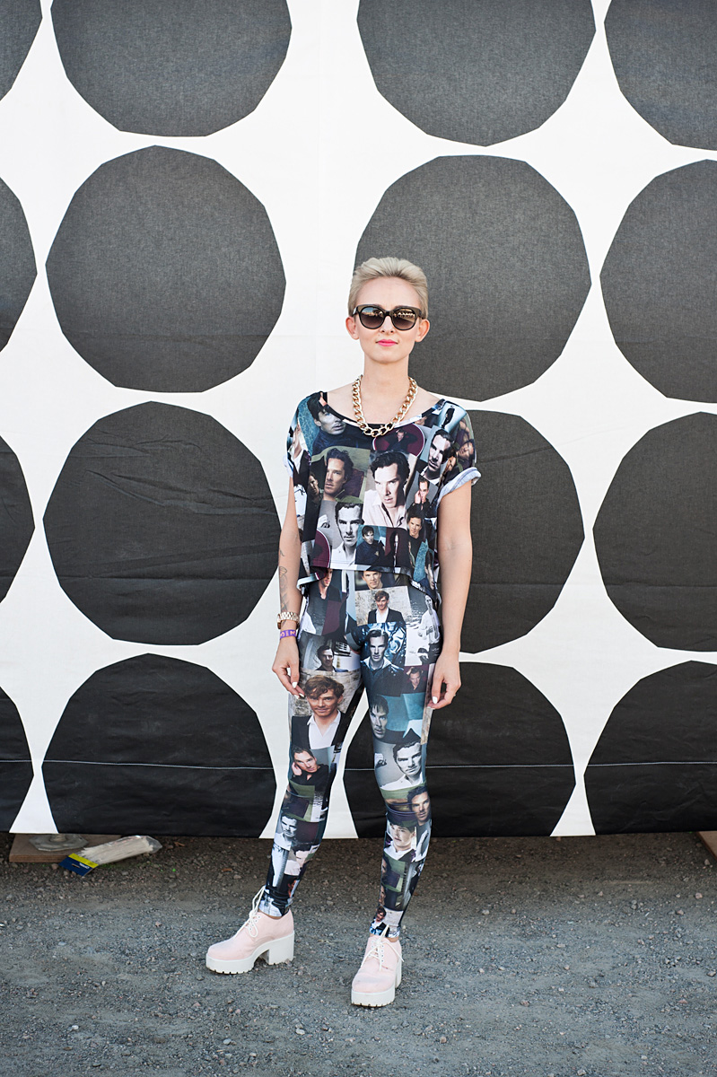 Flow Festival Helsinki 2015 looks on NewKewl blog - Miina
