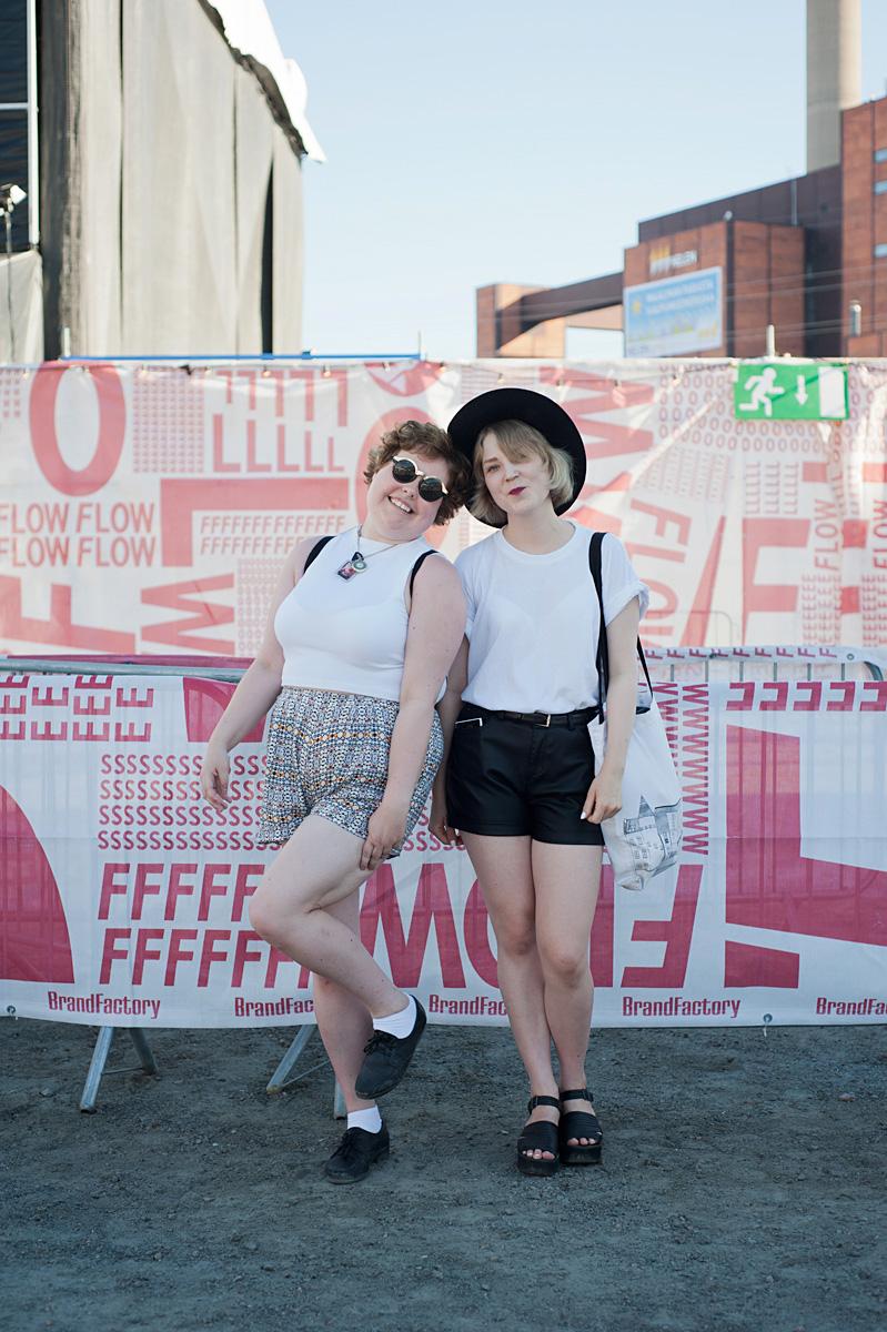 Flow Festival Helsinki 2015 looks on NewKewl blog - Milla & Viivi