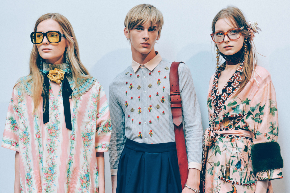 GUCCI MEN'S SPRING/SUMMER 2016 Tommy Ton photography