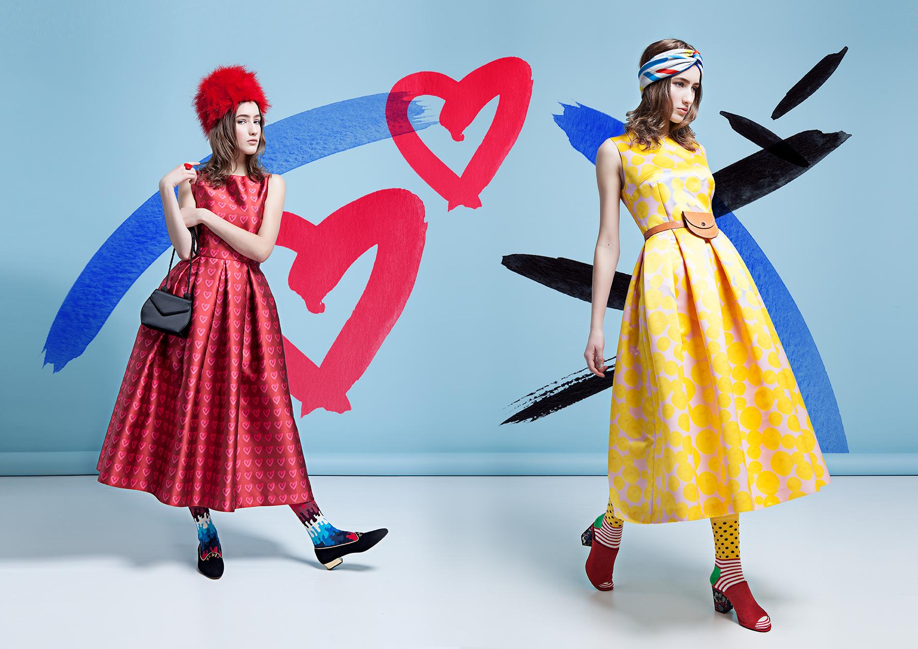 "Lilli Jahilo ""The Art Collection""; Art Direction; Style; Collage: Helene Vetik; Photography: Lilian Merila; MUAH: Eliise Brigite Mõismaa; Model: Brigite Kruusel STAR SYSTEM"