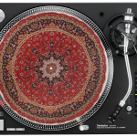Record player game level up, new slipmats.